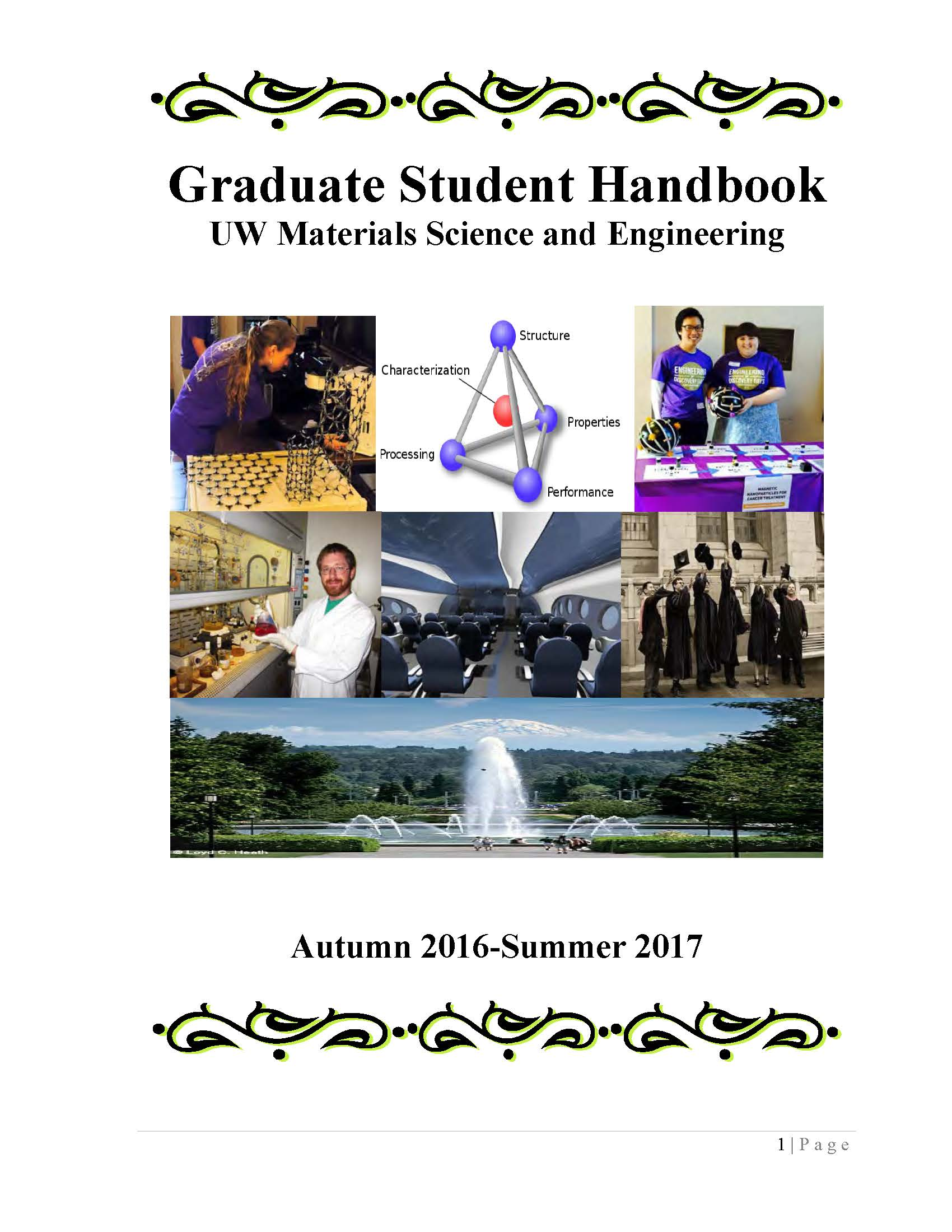 student handbook The western sydney university course and unit handbook is the official handbook published each year by the university as the official reference for courses and units offered.