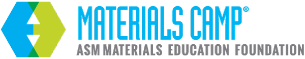 ASME Materials Camp logo