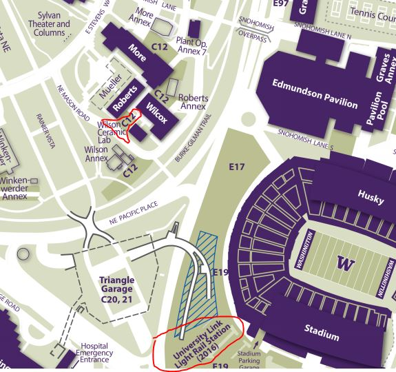 Directions, Transportation, and Parking | UW Materials Science ...